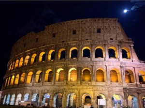 Colosseum at Night - Rome