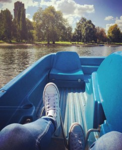 Paddle Boating - Serpentine