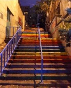 Rainbow Steps - Istanbul