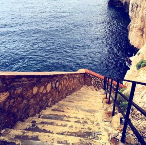 Sardinia Stairs to Heaven