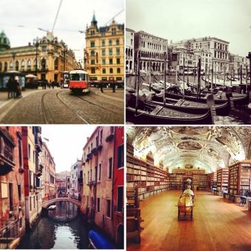 Venice and Prague
