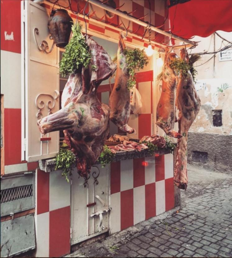 Meat Shop Marrakech