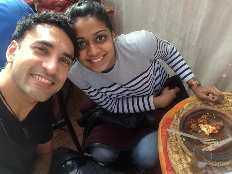 Mr and Mrs FOMOist in Marrakech