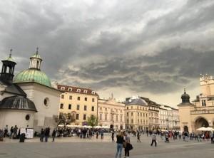 Moody Skies Old town Krakow