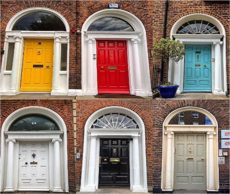 Famous Dublin Doors