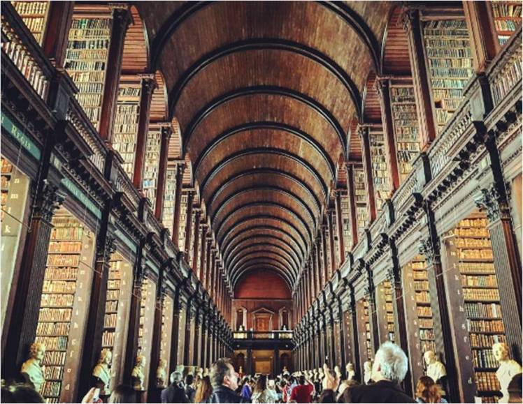 The Long Room Library, Trinity College