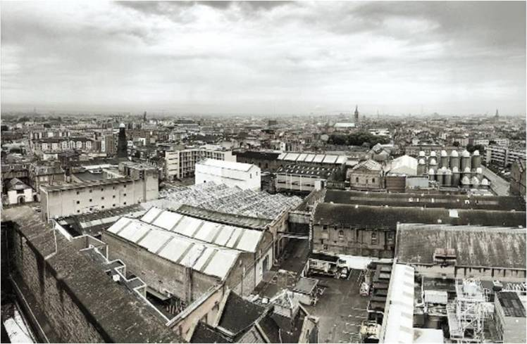 View from The Gravity Bar at Guinness Storehouse
