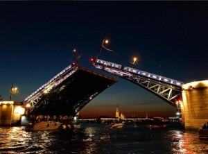 The bridge opening