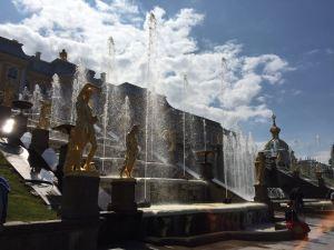 Grand Cascade Fountain at The Summer Palace, Peterhof