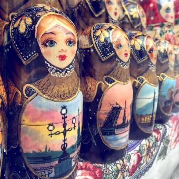 St Petersburg - Matryoshka dolls