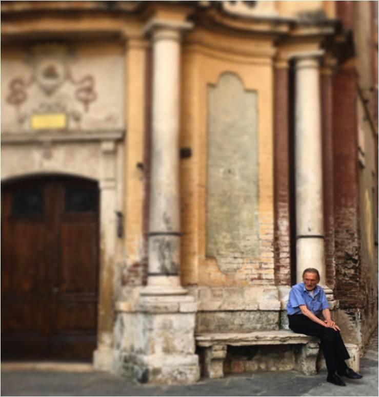 Chillin' in Siena
