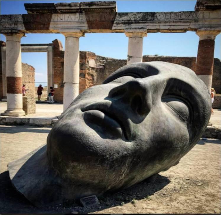 Igor Mitoraj, Pompeii