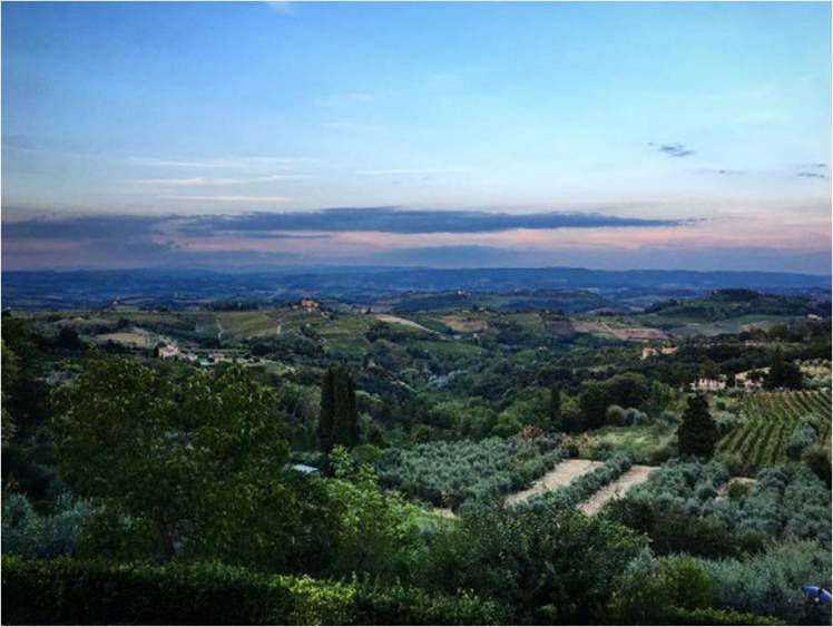 Tuscan Sunsets are the best!