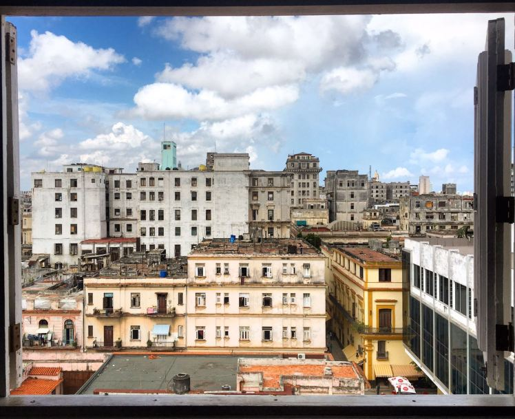 Havana Skyline from Hotel Ambos Mundos