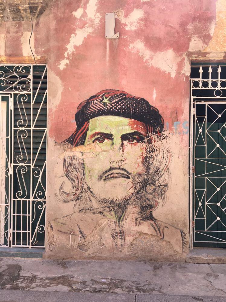 Che Street art, Cuba