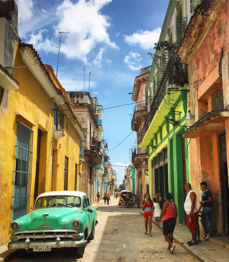 Streets of Havana Vieja