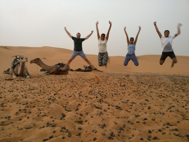 Crazy kids of the Sahara