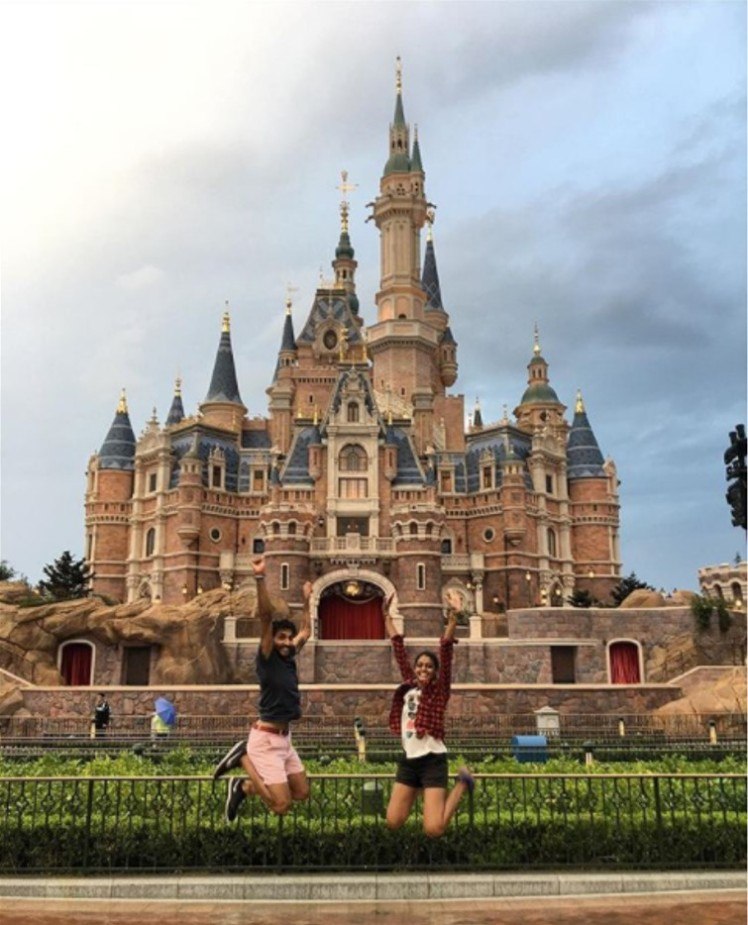 The FOMOists at Shanghai Disneyland