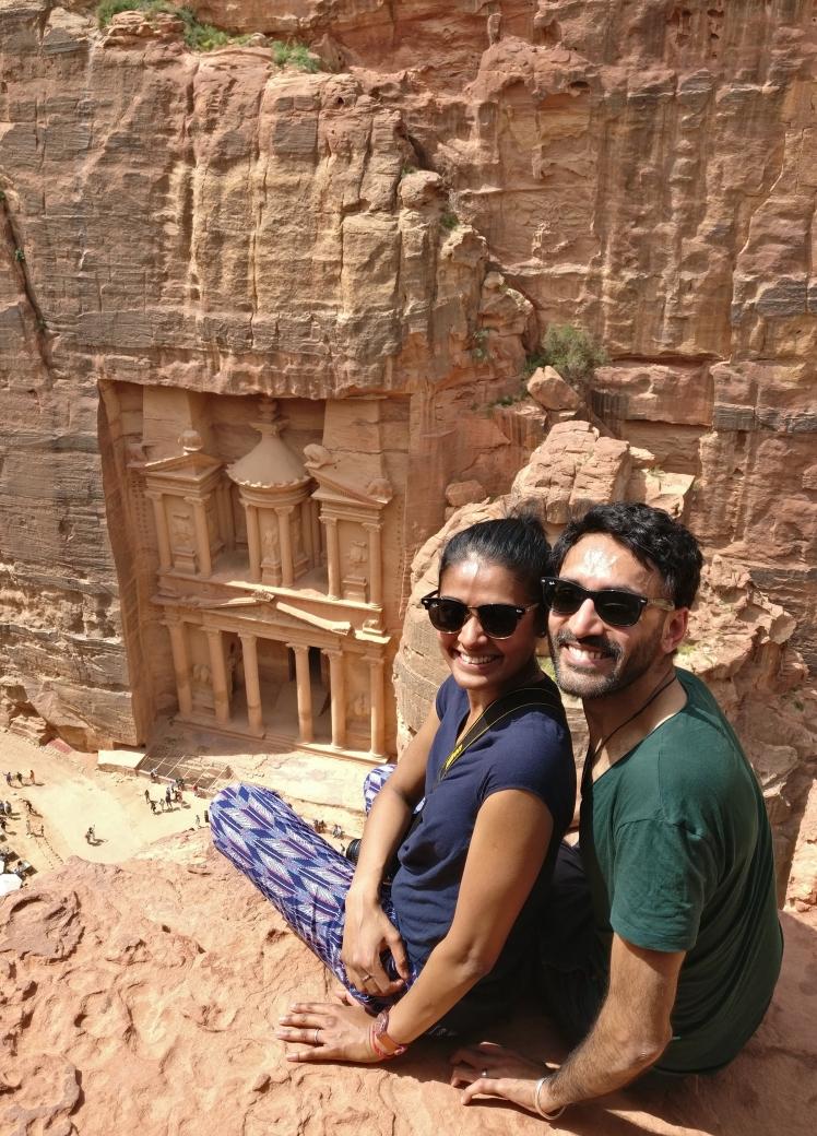 FOMOist at Petra