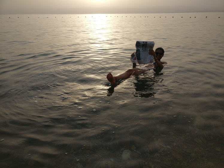 FOMOist at The Dead Sea