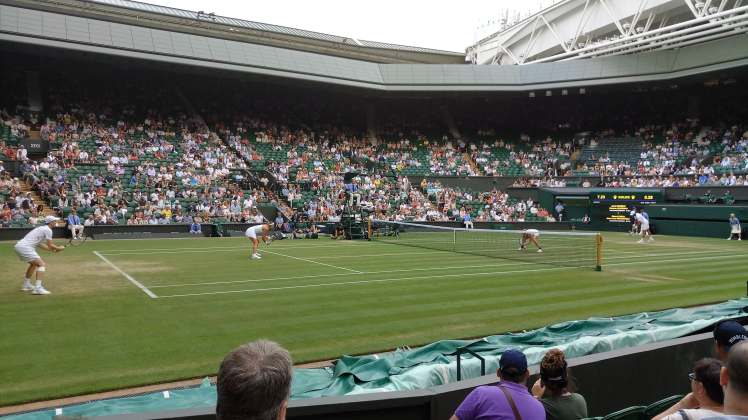 Centre Court Baby!