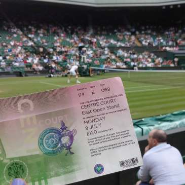 FOMOists with Wimbledon Centre Court Ticket
