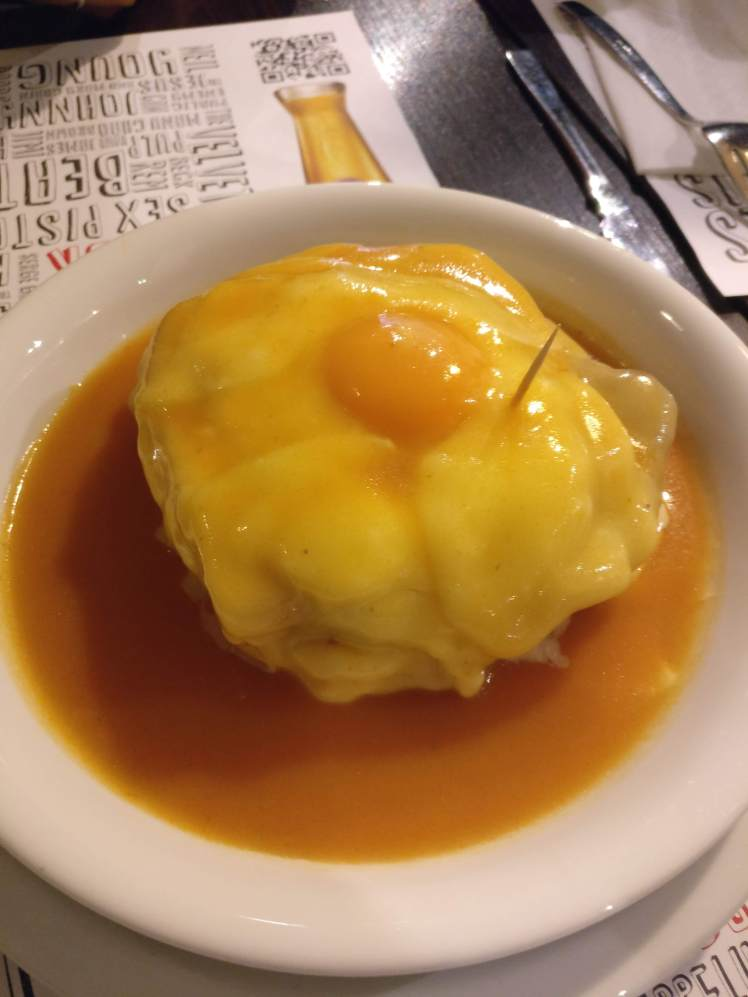 The glorious Francesinha, Porto #fomoist