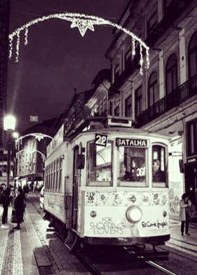 Wintery trams, Porto #fomoist
